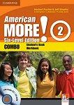 American More! - ниво 2 (A2): Учебник и учебна тетрадка - Combo + CD / CD-ROM -