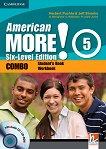 American More! - ниво 5 (B1): Учебник и учебна тетрадка - Combo + CD / CD-ROM - учебник