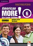 American More! - ниво 6 (B1): Учебник и учебна тетрадка - Combo + CD / CD-ROM -