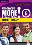 American More! - ниво 6 (B1): Учебник и учебна тетрадка - Combo + CD / CD-ROM - учебна тетрадка