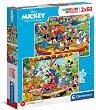 """Мики и приятели - Комплект от 2 пъзела от серията """"Мики Маус"""" -"""