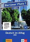Berliner Platz Neu: Учебна система по немски език Ниво 1 (A1): DVD с адаптирани теми към уроците в учебника - книга за учителя