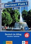 Berliner Platz Neu - ниво 1: Интерактивна версия на учебника - CD-ROM - книга за учителя