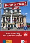 Berliner Platz Neu - ниво 3 (B1): Интерактивна версия на учебника - CD-ROM - учебник