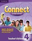 Connect - ниво 4: Материали за учителя Second Edition -