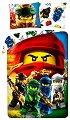 Детски двулицев спален комплект от 2 части - LEGO: Ninjago Detachment -