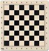 Силиконова подложка за игра на шах - С размери 45 x 45 cm -