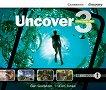 Uncover - ниво 3: 3 CD с аудиоматериали по английски език - учебна тетрадка