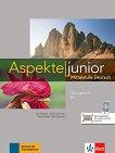 Aspekte junior - ниво B2: Тетрадка с упражнения + онлайн материали - учебник