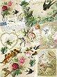 Декупажна хартия - Птици - Формат A4 -