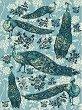 Декупажна хартия - Пауни - Формат A4 -