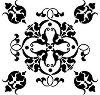 Шаблон - Флорален орнамент