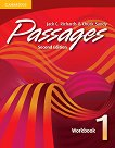Passages - ниво 1: Учебна тетрадка - Second Edition Учебна система по английски език -