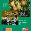 Aspekte Neu - ниво C1: 3 CD с аудиоматериали по немски език - учебна тетрадка