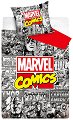 Детски двулицев спален комплект от 2 части - Marvel Comics -