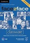 face2face - Pre-intermediate (B1): DVD с интерактивна версия на учебника Учебна система по английски език - Second Edition -