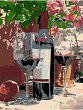 Рисуване по номера с акрилни бои - Вино за двама