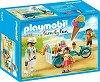 """Количка за сладолед - Фигури с аксесоари от серията """"Playmobil: Family Fun"""" -"""