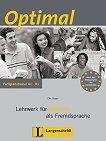 Optimal - нива A1 - B1: Книга с упражнения по немски език - Elke Burger -