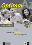 Optimal - ниво A2: Книга за учителя по немски език -
