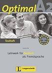 Optimal - ниво A2: Книга с тестове по немски език -