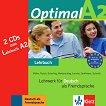 Optimal - ниво A2: 2 Аудио CD към учебника по немски език - помагало