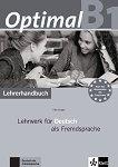 Optimal - ниво B1: Книга за учителя по немски език -
