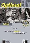 Optimal - ниво B1: Книга с тестове по немски език -
