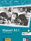Klasse! - ниво А1.1: Учебна тетрадка по немски език - Sarah Fleer, Ute Koithan -