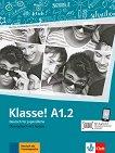 Klasse! - ниво А1.2: Учебна тетрадка по немски език - Sarah Fleer, Ute Koithan -
