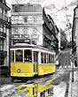 Рисуване по номера с акрилни бои - Трамвай