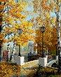 Рисуване по номера с акрилни бои - Есен