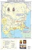 България при княз Борис I и цар Симеон I - Стенна карта -