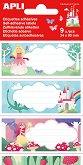 Етикети за тетрадки - Принцеси - 9 броя -