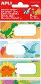 Етикети за тетрадки - Динозаври - 9 броя -