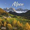 Стенен календар - Alpen 2022 - календар