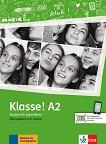 Klasse! - ниво A2: Учебна тетрадка по немски език - Sarah Fleer, Ute Koithan, Tanja Mayr-Sieber, Bettina Schwieger -