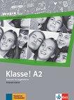 Klasse! - ниво А2: Тетрадка с упражнения по немски език - Sarah Fleer, Margret Rodi -