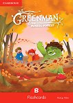 Greenman and the Magic Forest - ниво B: Флашкарти : Учебна система по английски език - Marilyn Miller -
