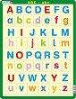 Английската азбука - Пъзел в картонена подложка -
