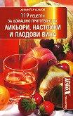 119 рецепти за домашно приготвяне на ликьори, настойки и плодови вина - Димитър Цаков -