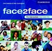 face2face: Учебна система по английски език - First Edition : Ниво Pre-intermediate (B1): 3 CD с аудиозаписи на задачите от учебника - Chris Redston, Gillie Cunningham - учебник