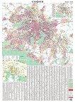 Стенна карта на София - М 1: 19 000 -