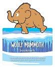 Разделител за книга с динозаври - Мамут - детска книга