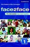 face2face: Учебна система по английски език Ниво Pre-Intermediate (B1): 2 Аудио касети със задачите от учебника -