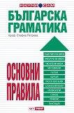Българска граматика - основни правила - проф. Стефка Петрова - помагало