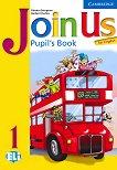 Join Us for English: Учебна система по английски език Ниво 1: Учебник - учебна тетрадка