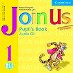 Join Us for English: Учебна система по английски език : Ниво 1: CD с аудиоматериали за упражненията от учебника - Gunter Gerngross, Herbert Puchta -