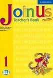 Join Us for English: Учебна система по английски език : Ниво 1: Книга за учителя - Gunter Gerngross, Herbert Puchta -