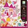 Комплект печати - Принцеси - Творчески комплект за рисуване -